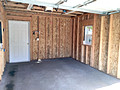 12 x 17 garage inside view
