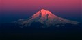 Mt. Hood setting sun sequence - #4 of 7